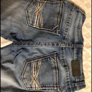 Mens BKE Aiden Bootleg jeans size 31L